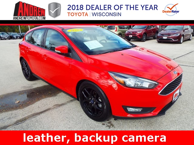 Stock #: TP9442 Red 2016 Ford Focus SE 4D Hatchback in Milwaukee, Wisconsin 53209