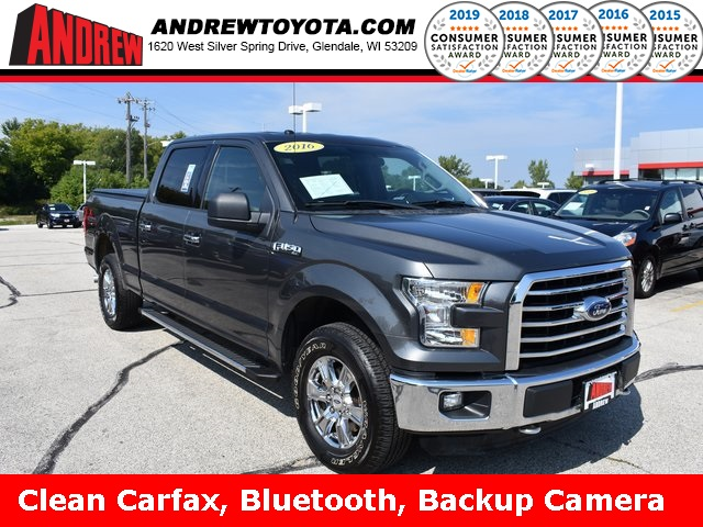 Stock #: TP1070 Gray 2016 Ford F-150 XLT 4D SuperCrew in Milwaukee, Wisconsin 53209