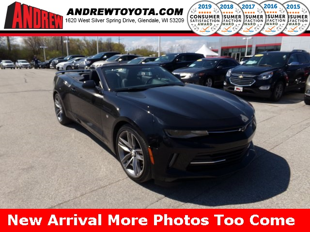 Stock #: KB9843A Black 2016 Chevrolet Camaro 2LT 2D Convertible in Milwaukee, Wisconsin 53209