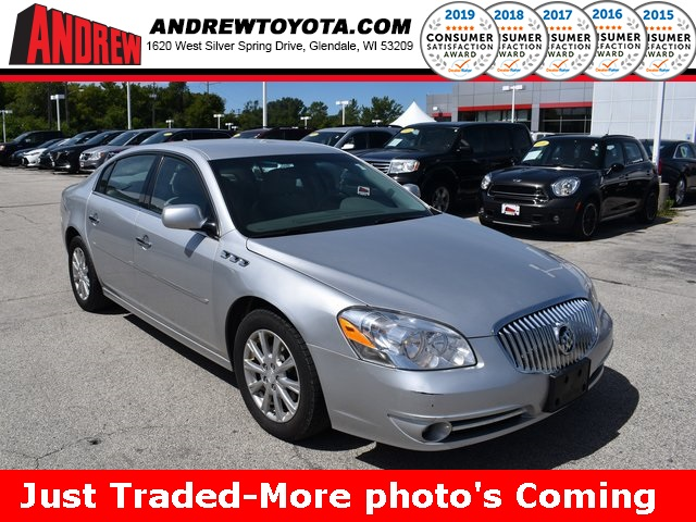 Stock #: TP10043 Silver 2010 Buick Lucerne CXL 4D Sedan in Milwaukee, Wisconsin 53209