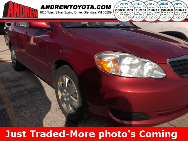Stock #: TP1060A Red 2005 Toyota Corolla LE 4D Sedan in Milwaukee, Wisconsin 53209