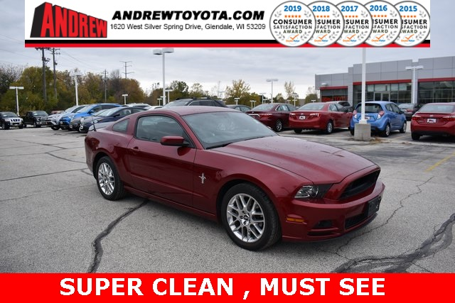 Stock #: TP1161 Red 2014 Ford Mustang V6 2D Coupe in Milwaukee, Wisconsin 53209