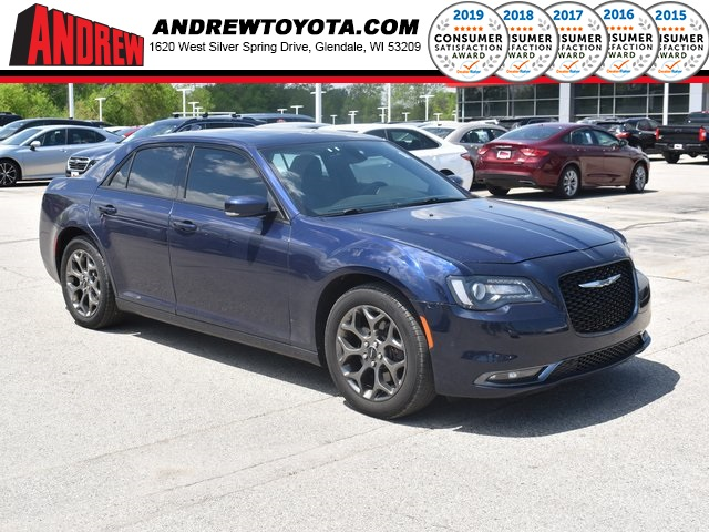 Stock #: 39439A Blue 2016 Chrysler 300 S 4D Sedan in Milwaukee, Wisconsin 53209