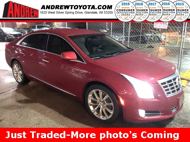 Stock #: 38484A Red 2013 Cadillac XTS Luxury 4D Sedan in Milwaukee, Wisconsin 53209