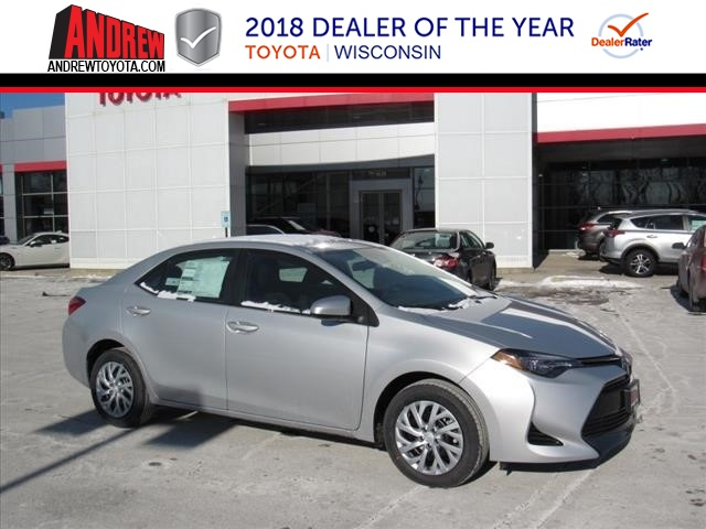 New 2018 Corolla LE FWD 4D Sedan