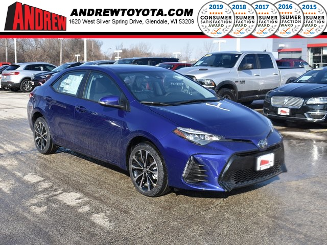 Stock #: 37641 Blue 2019 Toyota Corolla SE 4D Sedan in Milwaukee, Wisconsin 53209