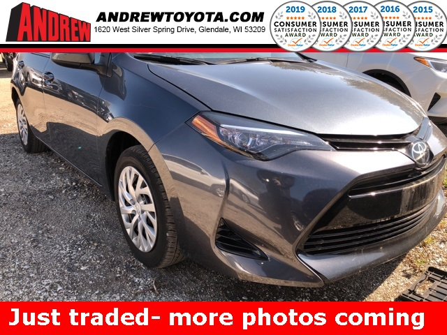Stock #: TP1501 SLATE METALLIC 2017 Toyota Corolla LE 4D Sedan in Milwaukee, Wisconsin 53209