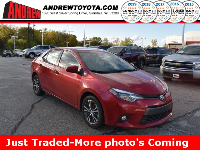 Stock #: TP1141 Red 2016 Toyota Corolla LE Plus 4D Sedan in Milwaukee, Wisconsin 53209