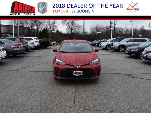 Stock #: 37430 Red 2019 Toyota Corolla SE 4D Sedan in Milwaukee, Wisconsin 53209