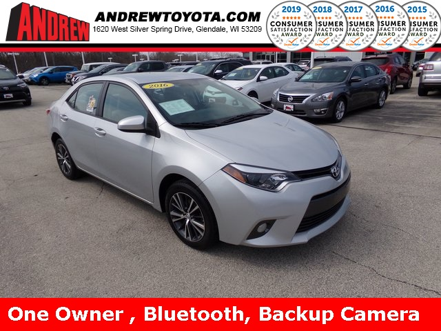 Stock #: TP9803 Silver 2016 Toyota Corolla LE Plus 4D Sedan in Milwaukee, Wisconsin 53209