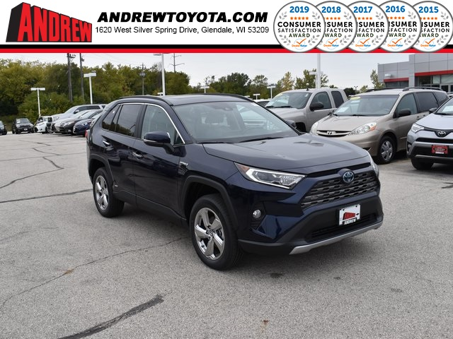 Stock #: 38729  2019 Toyota RAV4 Hybrid Limited 4D Sport Utility in Milwaukee, Wisconsin 53209