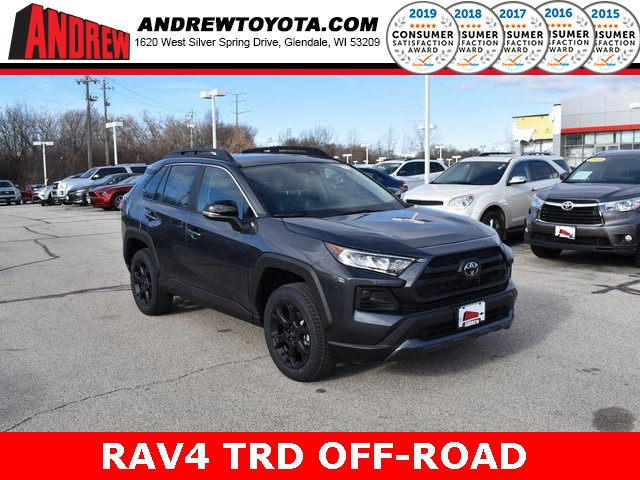 Stock #: 39032 Magnetic Gray Metallic 2020 Toyota RAV4 TRD Off Road 4D Sport Utility in Milwaukee, Wisconsin 53209