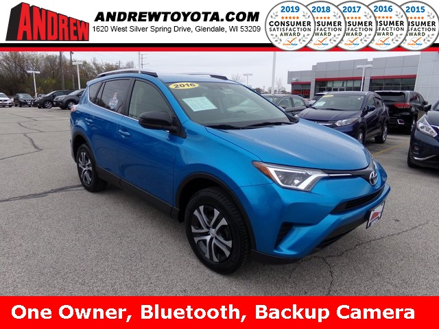 Stock #: 37059A Blue 2016 Toyota RAV4 SE 4D Sport Utility in Milwaukee, Wisconsin 53209
