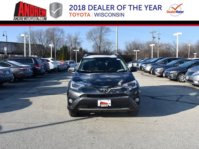 Stock #: 37290 Gray 2018 Toyota RAV4 XLE 4D Sport Utility in Milwaukee, Wisconsin 53209