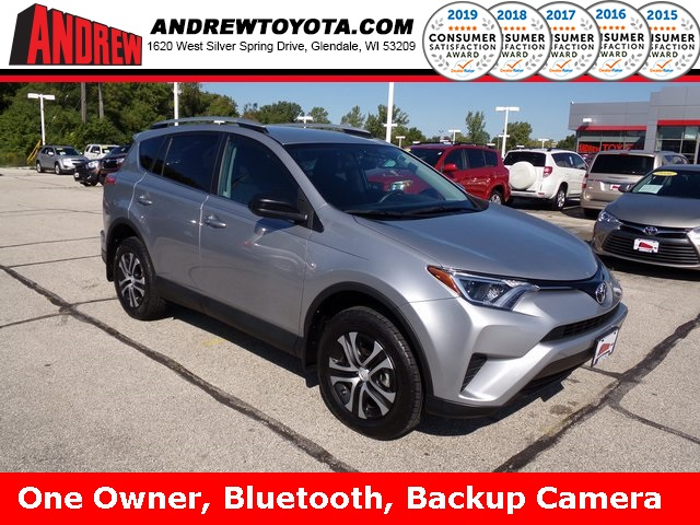 Stock #: TP1061 Black 2016 Toyota RAV4 LE 4D Sport Utility in Milwaukee, Wisconsin 53209