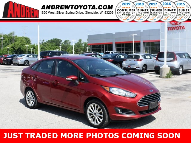 Stock #: 39459A Red 2014 Ford Fiesta SE 4D Sedan in Milwaukee, Wisconsin 53209