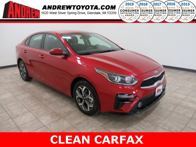 Stock #: TP1363 Red 2019 Kia Forte FE 4D Sedan in Milwaukee, Wisconsin 53209