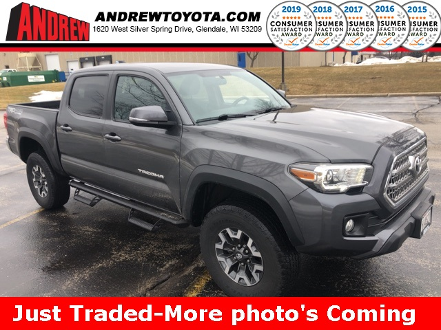 Stock 37405a Gray 2016 Toyota Tacoma Trd Offroad 4d Double Cab In Milwaukee