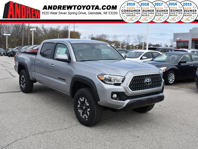 Stock #: 37804 Silver 2019 Toyota Tacoma TRD Offroad 4D Double Cab in Milwaukee, Wisconsin 53209