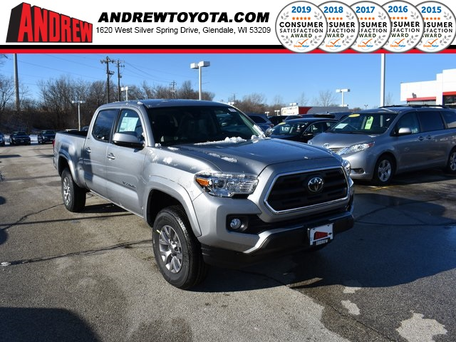 Stock #: 37360 Silver 2019 Toyota Tacoma SR5 4D Double Cab in Milwaukee, Wisconsin 53209
