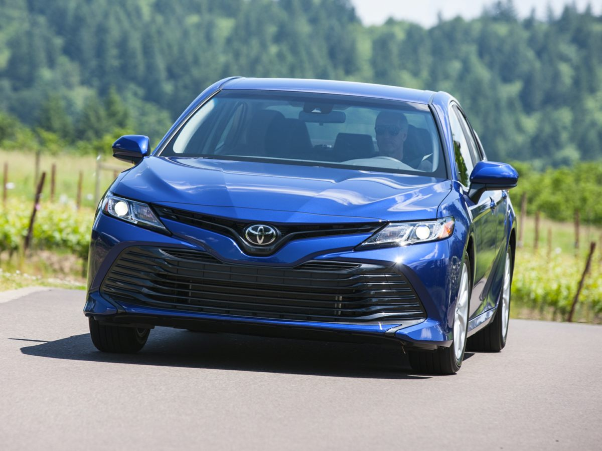Stock #: TP1530 Silver 2019 Toyota Camry LE 4D Sedan in Milwaukee, Wisconsin 53209