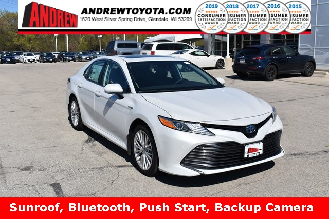 Stock #: 37903  2019 Toyota Camry Hybrid XLE 4D Sedan in Milwaukee, Wisconsin 53209