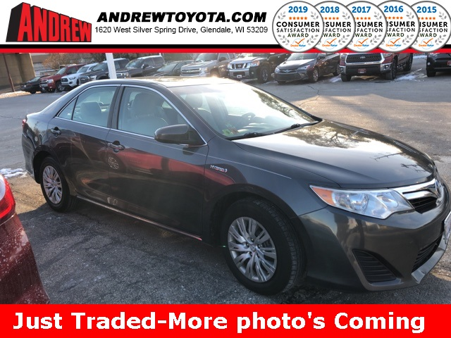 Stock #: TP1132A Gray 2012 Toyota Camry Hybrid LE 4D Sedan in Milwaukee, Wisconsin 53209