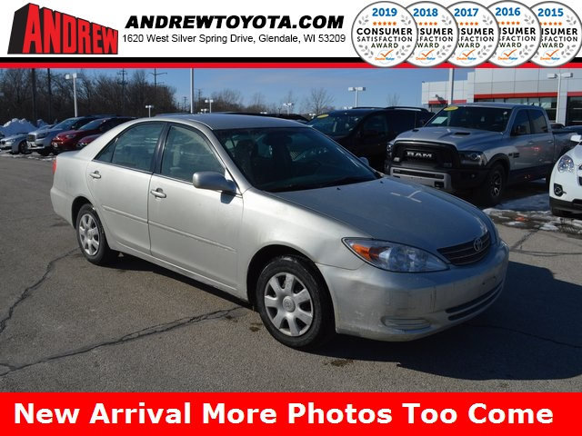 Stock #: 37519A  2003 Toyota Camry LE 4D Sedan in Milwaukee, Wisconsin 53209