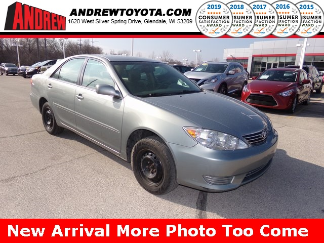 Stock #: 37349C Silver 2005 Toyota Camry LE 4D Sedan in Milwaukee, Wisconsin 53209