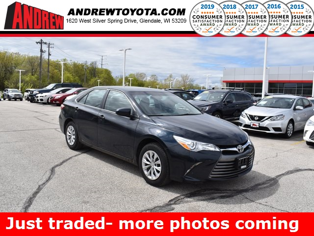 Stock #: TP1526 Gray 2017 Toyota Camry LE 4D Sedan in Milwaukee, Wisconsin 53209