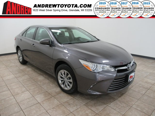 Stock #: TP1493 Gray 2016 Toyota Camry LE 4D Sedan in Milwaukee, Wisconsin 53209