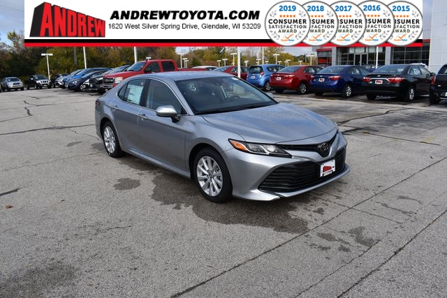 Stock #: 38820 Silver 2020 Toyota Camry LE 4D Sedan in Milwaukee, Wisconsin 53209