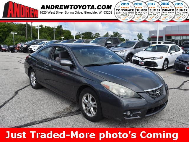 Stock #: 38257A Gray 2007 Toyota Camry Solara SE 2D Coupe in Milwaukee, Wisconsin 53209