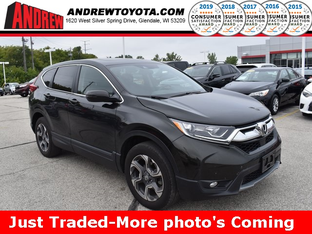 Stock #: 38611A Green 2017 Honda CR-V EX 4D Sport Utility in Milwaukee, Wisconsin 53209