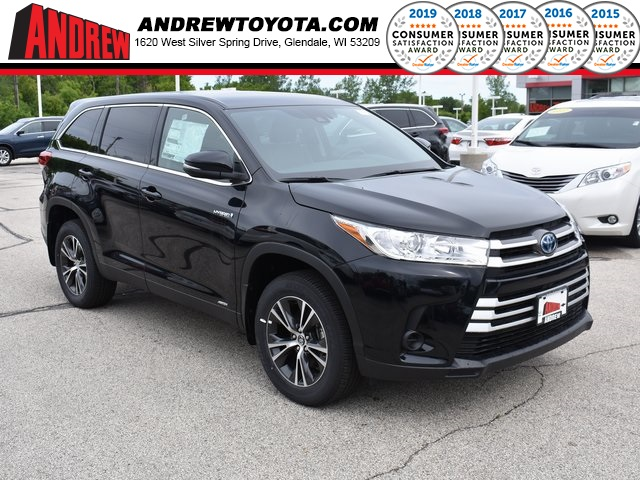 New 2019 Toyota Highlander Hybrid LE AWD