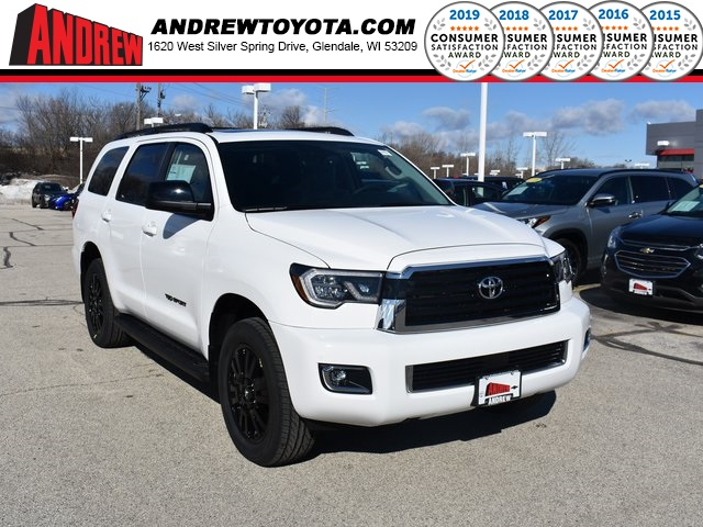 Goede New 2019 Toyota Sequoia TRD Sport 4D Sport Utility in Milwaukee TB-93
