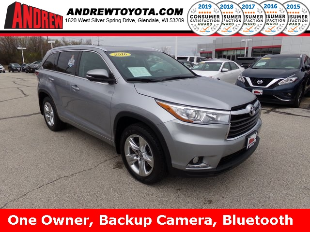 Stock #: TP9828 Silver 2016 Toyota Highlander Limited 4D Sport Utility in Milwaukee, Wisconsin 53209