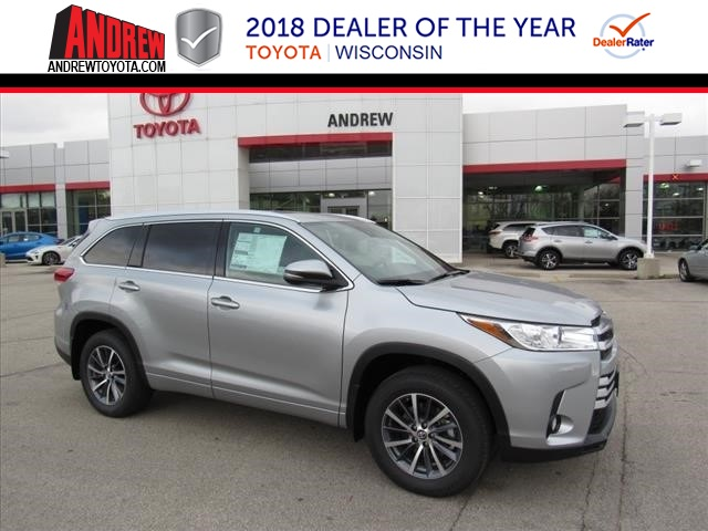 New 2018 Highlander XLE AWD