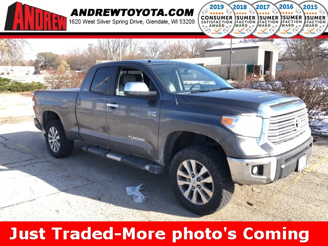 Stock #: 37924A Gray 2016 Toyota Tundra Limited 4D Double Cab in Milwaukee, Wisconsin 53209