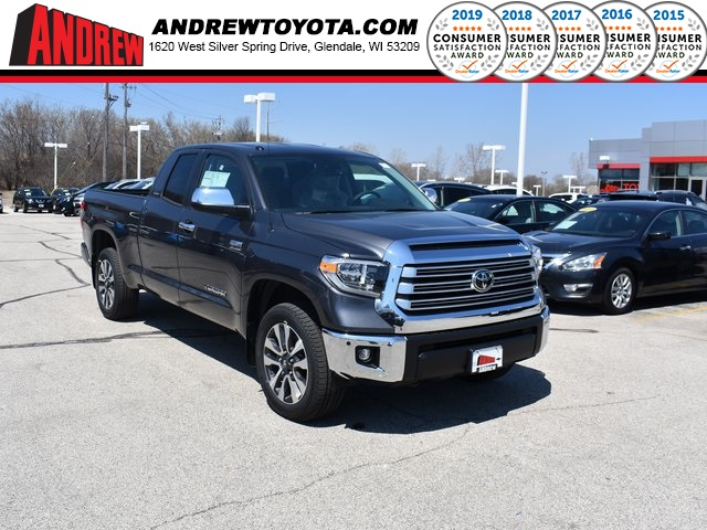 Stock #: 37764 Gray 2019 Toyota Tundra Limited 4D Double Cab in Milwaukee, Wisconsin 53209