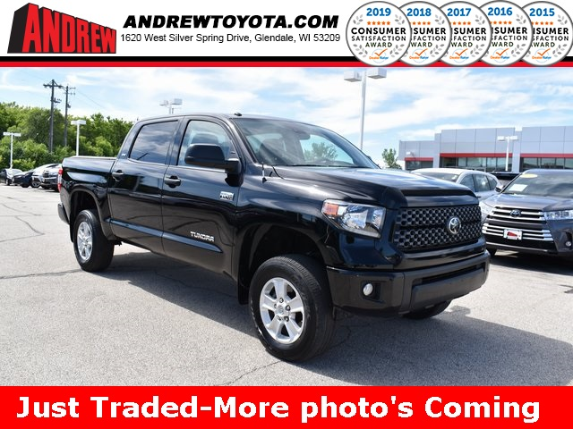 Stock #: TP9907 Black 2018 Toyota Tundra SR5 4D CrewMax in Milwaukee, Wisconsin 53209