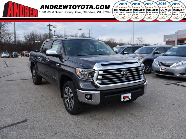 Stock #: 37339 Gray 2019 Toyota Tundra Limited 4D CrewMax in Milwaukee, Wisconsin 53209