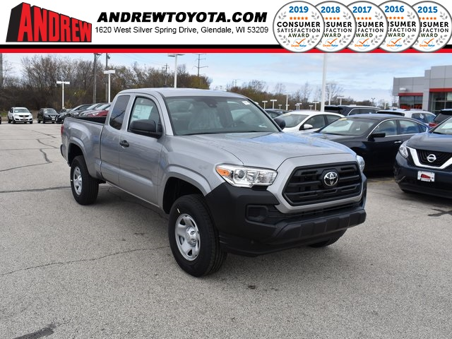 Stock 37821 Silver 2019 Toyota Tacoma Sr 4d Access Cab In Milwaukee Wisconsin