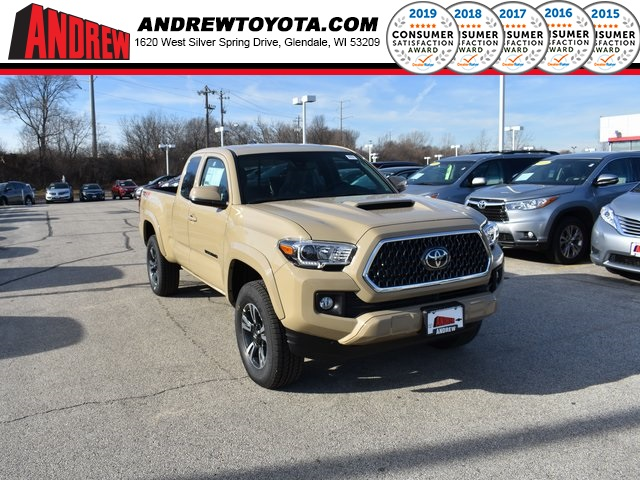 New Toyota Tacoma >> New 2019 Toyota Tacoma Trd Sport 4d Access Cab In Milwaukee 37216