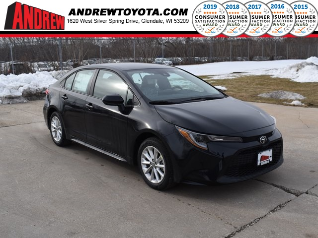 Stock #: 39160 Black Sand Pearl 2020 Toyota Corolla LE 4D Sedan in Milwaukee, Wisconsin 53209