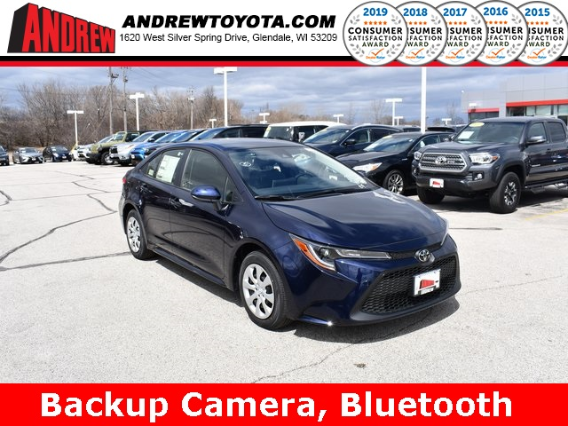 Stock #: 37796  2020 Toyota Corolla LE 4D Sedan in Milwaukee, Wisconsin 53209