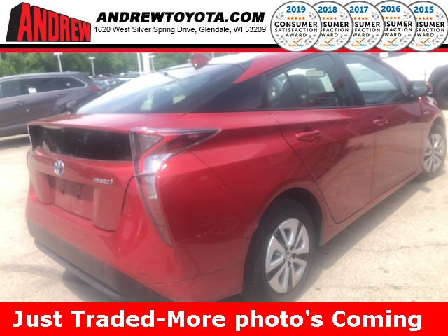 Stock #: TP9938 Red 2017 Toyota Prius Four 5D Hatchback in Milwaukee, Wisconsin 53209