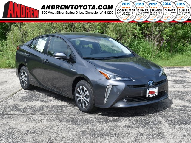 Stock #: 38894 Magnetic Gray Metallic 2020 Toyota Prius LE AWD-e 5D Hatchback in Milwaukee, Wisconsin 53209
