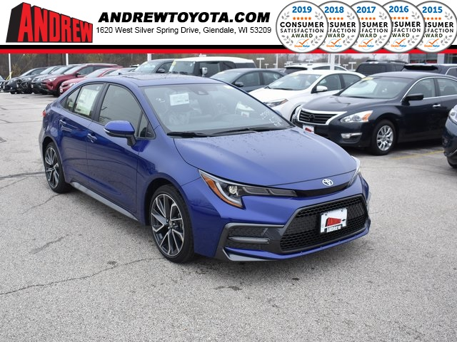 Stock #: 37929 Blue 2020 Toyota Corolla SE 4D Sedan in Milwaukee, Wisconsin 53209
