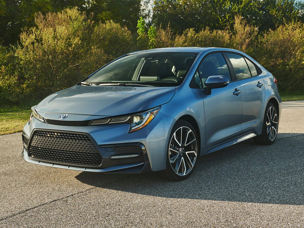 New 2020 Toyota Corolla SE FWD 4D Sedan